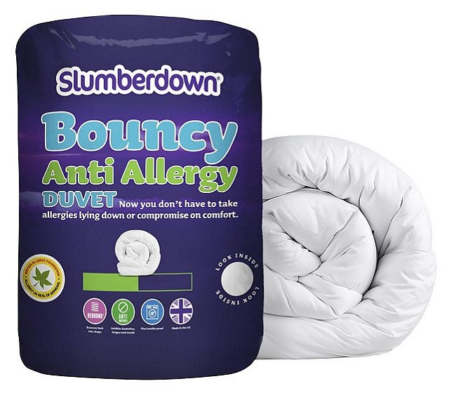 neu slumberdown federnd anti allergie 10 5 tog bettdecke king size ebay. Black Bedroom Furniture Sets. Home Design Ideas