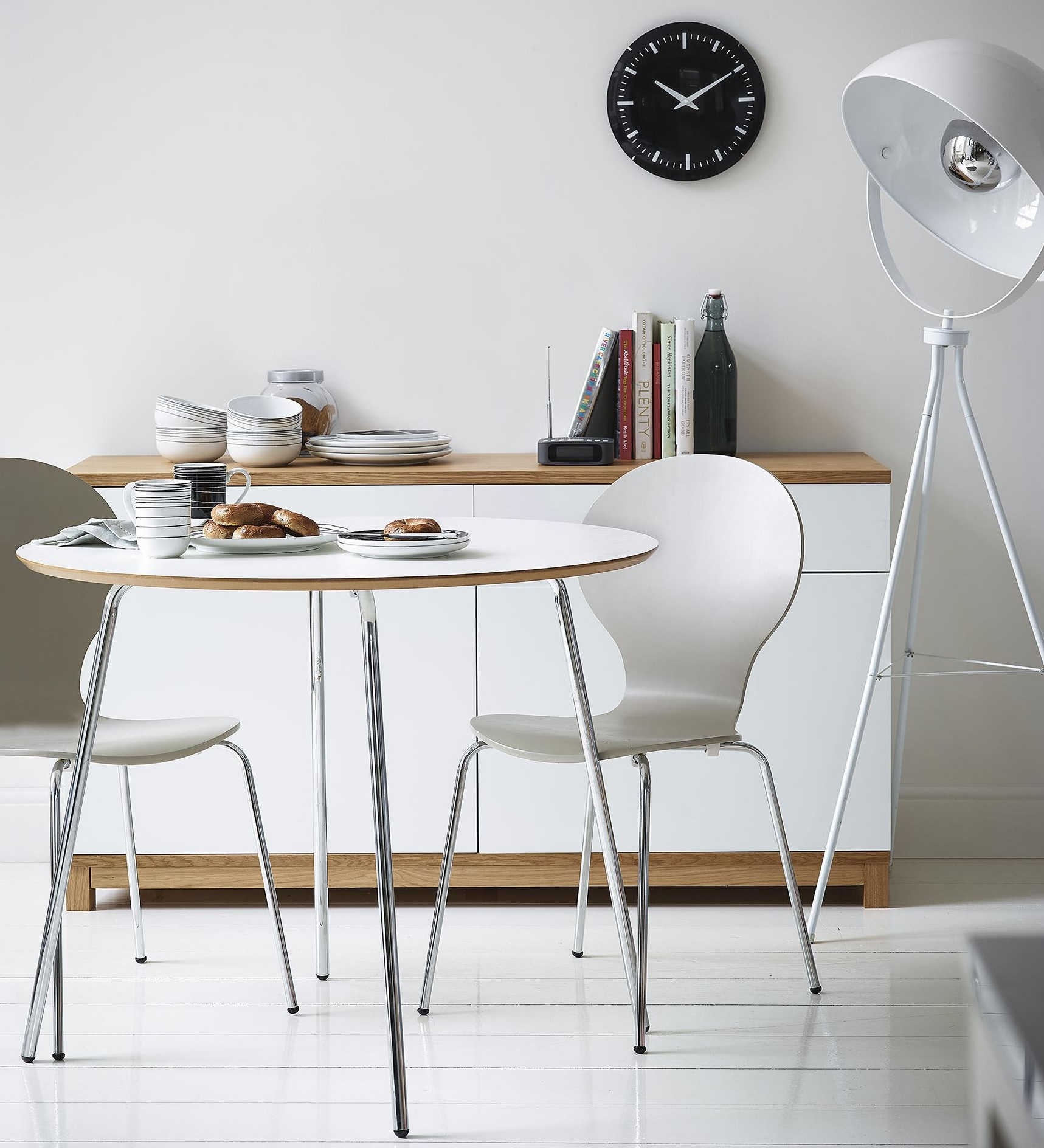 NEW Tesco Set of 4 Wood amp Metal Stacking Bistro Dining  : 5054268370363 from www.ebay.co.uk size 1717 x 1888 jpeg 502kB
