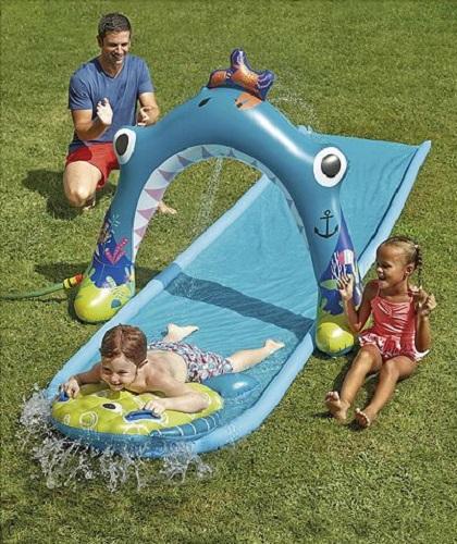 Inflatable Slide Pool Tesco