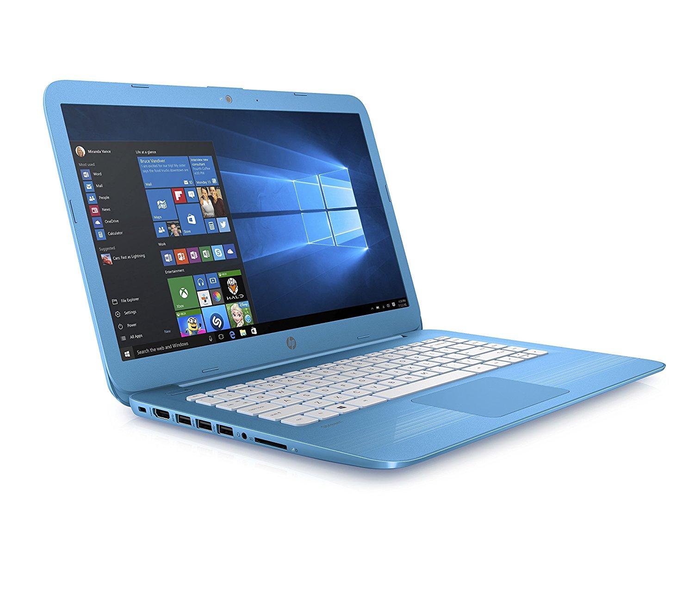 hp stream 14 ax000na 14 laptop intel celeron 32gb emmc 4gb ram windows 10 a ebay. Black Bedroom Furniture Sets. Home Design Ideas