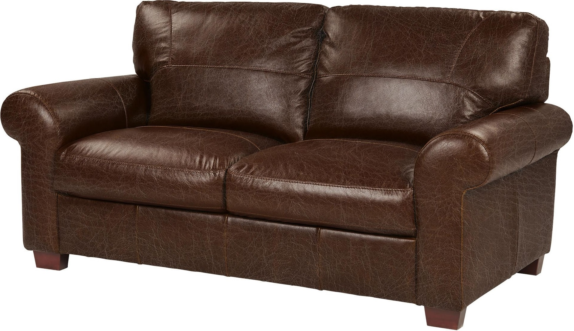 Tesco Ledbury Medium 2 Seater Real Leather Sofa