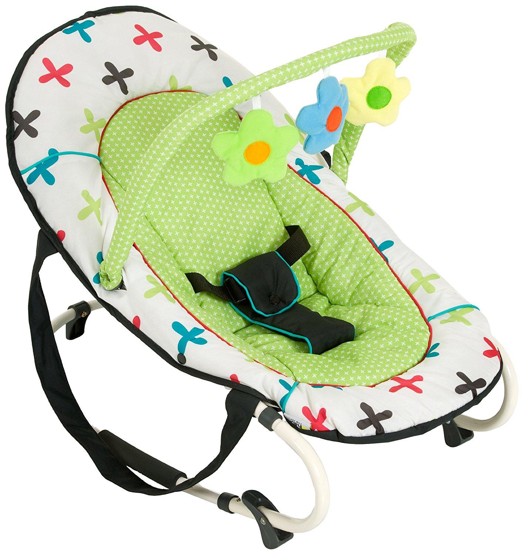 neu hauck bungee deluxe kreuz baby wippe stuhl sitz spielzeug. Black Bedroom Furniture Sets. Home Design Ideas
