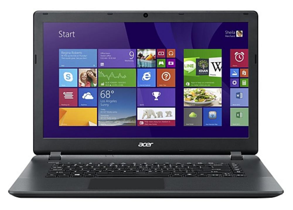 "Acer Aspire ES1-511-C11F 15.6"" Laptop Intel Celeron 500GB HDD 4GB RAM Windows 8"