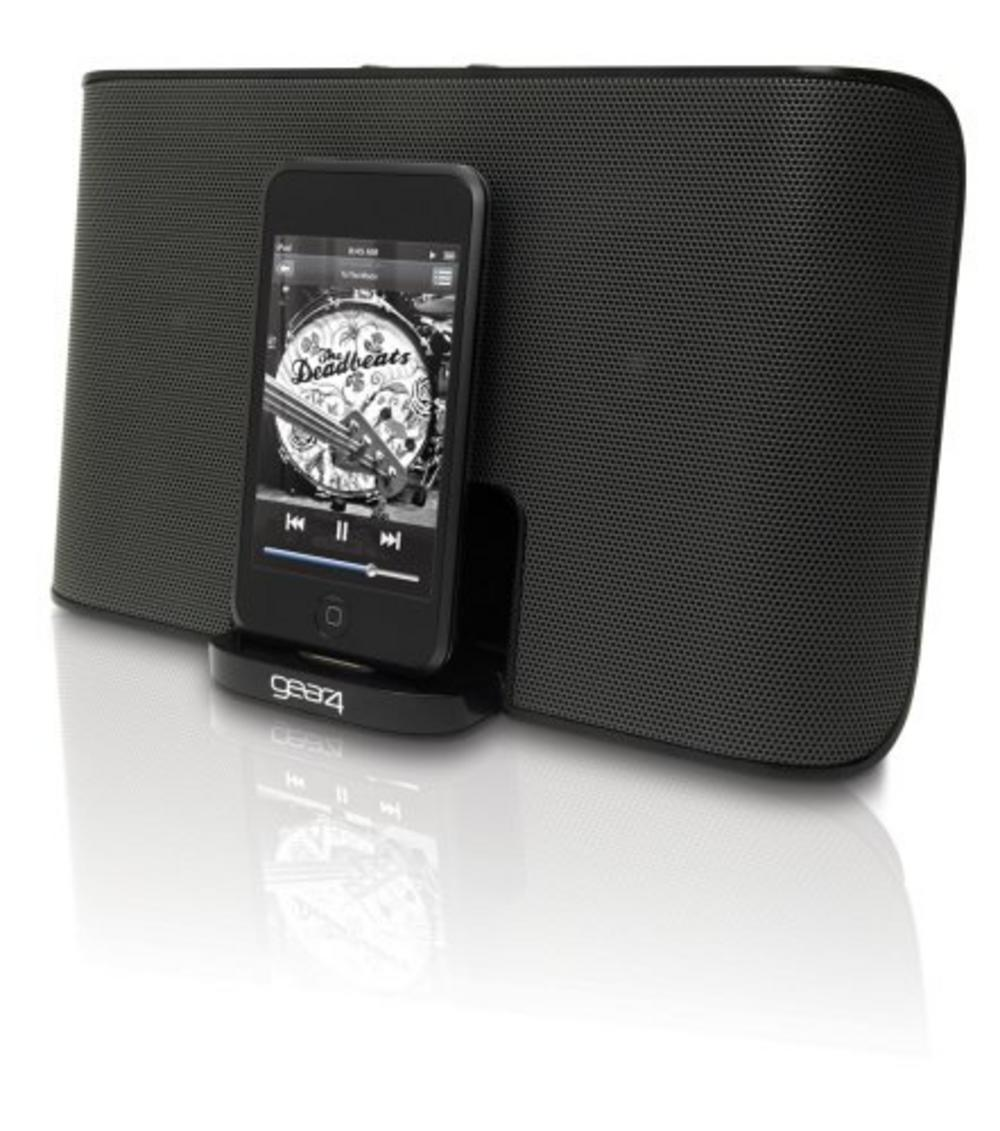 GEAR4 StreetParty 3 Portable Speaker Dock for iPod