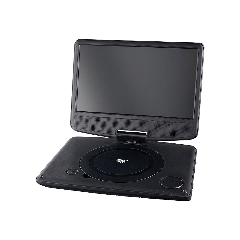 polaroid t 901b swivel screen portable dvd player black ebay. Black Bedroom Furniture Sets. Home Design Ideas