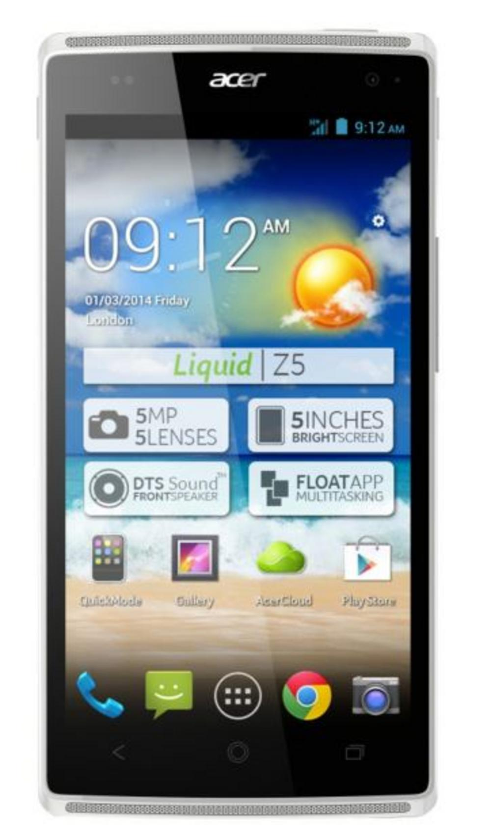 Acer Liquid Z5 Android Mobile Phone Touchscreen Smartphone Unlocked