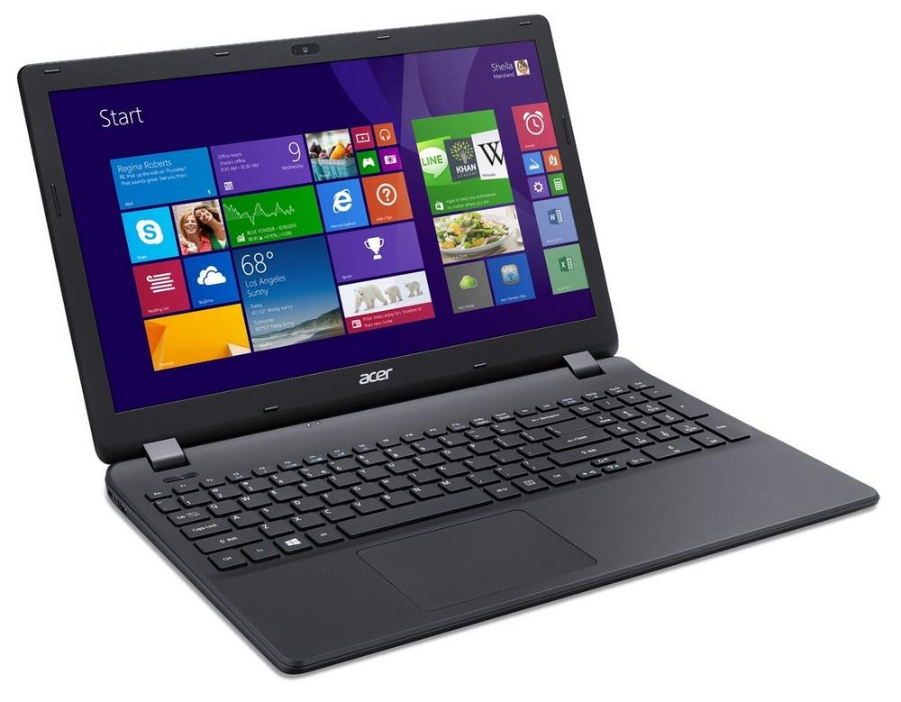 "Acer Aspire ES1-512 15.6"" Laptop Intel Celeron 500GB HDD 4GB RAM Windows 8.1"