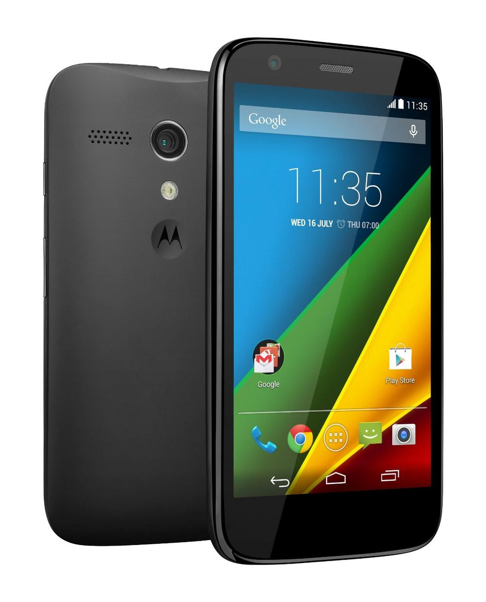 Motorola Moto G XT1039 8GB Touchscreen Smartphone Mobile Phone Unlocked - Black