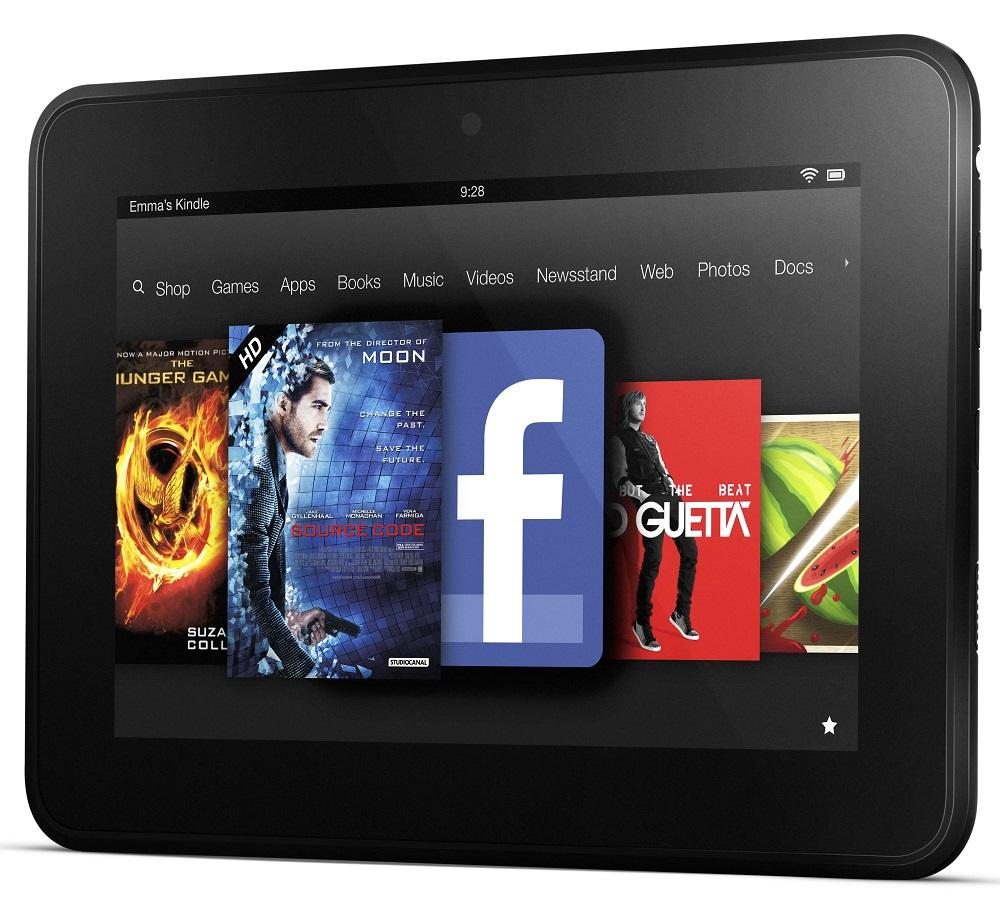 "Amazon Kindle Fire HD X43Z60 7"" Internet Tablet WiFi 16GB Storage - Black"