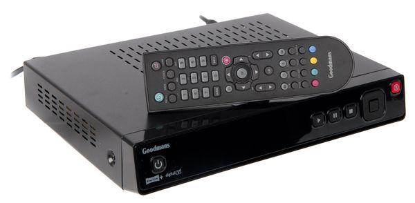 GOODMANS GDB1232DTR 320GB Twin Tuner Freeview+ Digital TV Recorder