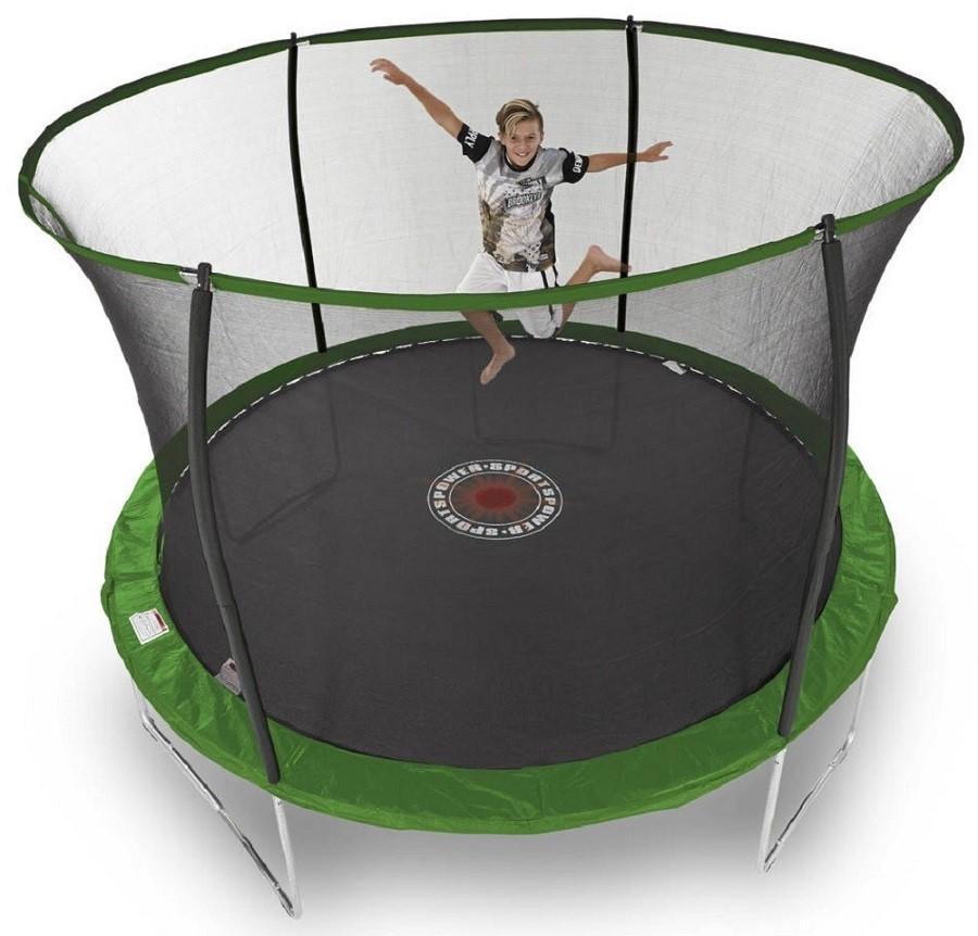 Sportspower 10ft Galvanised Trampoline With Enclosure