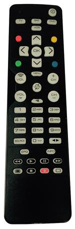 URC1340 Universal Replacement Remote Control TV/SAT/DVD/VCR - Black