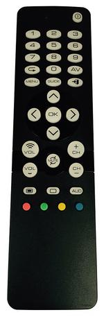 URC1310 Universal TV Replacement Remote Control - Black