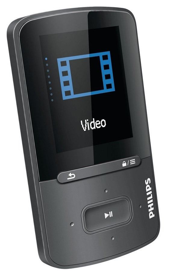 philips sa4vbe08sn 12 gogear vibe 8gb mp3 mp4 player. Black Bedroom Furniture Sets. Home Design Ideas