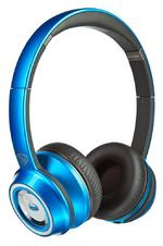 Monster NTune 128521-00 Wired On-Ear Headphones with ControlTalk - Candy Blue
