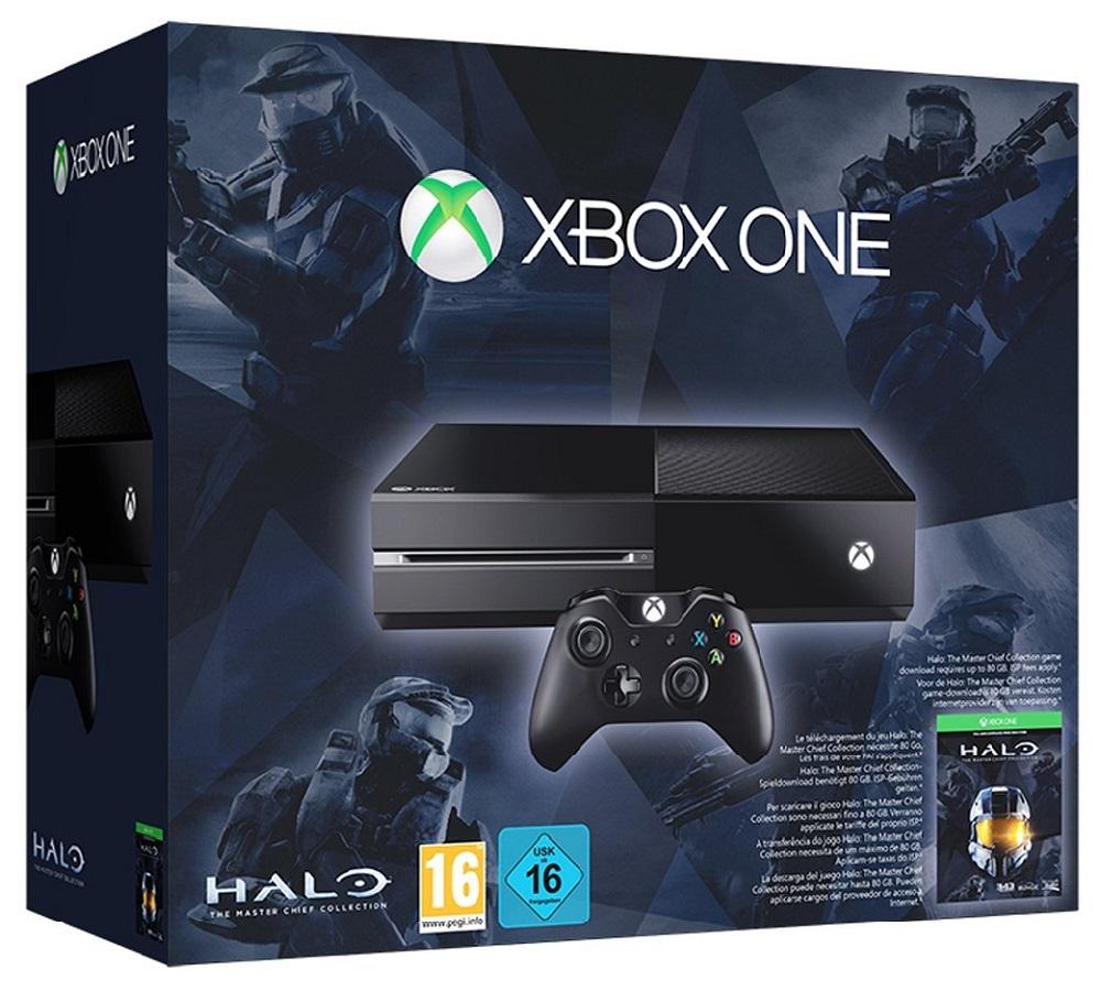 500GB Xbox One GAMES CONSOLE CON: The Halo Master Chief ...