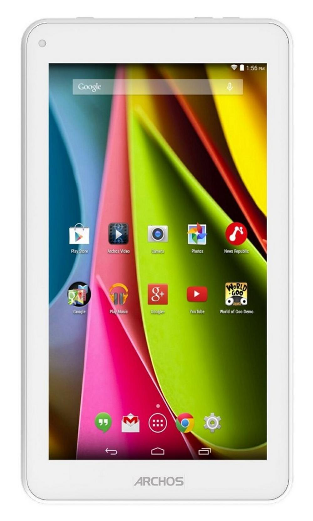 Archos 70c Cobalt 7 inch Internet Tablet 8GB Memory WiFi Android 4.4 - White