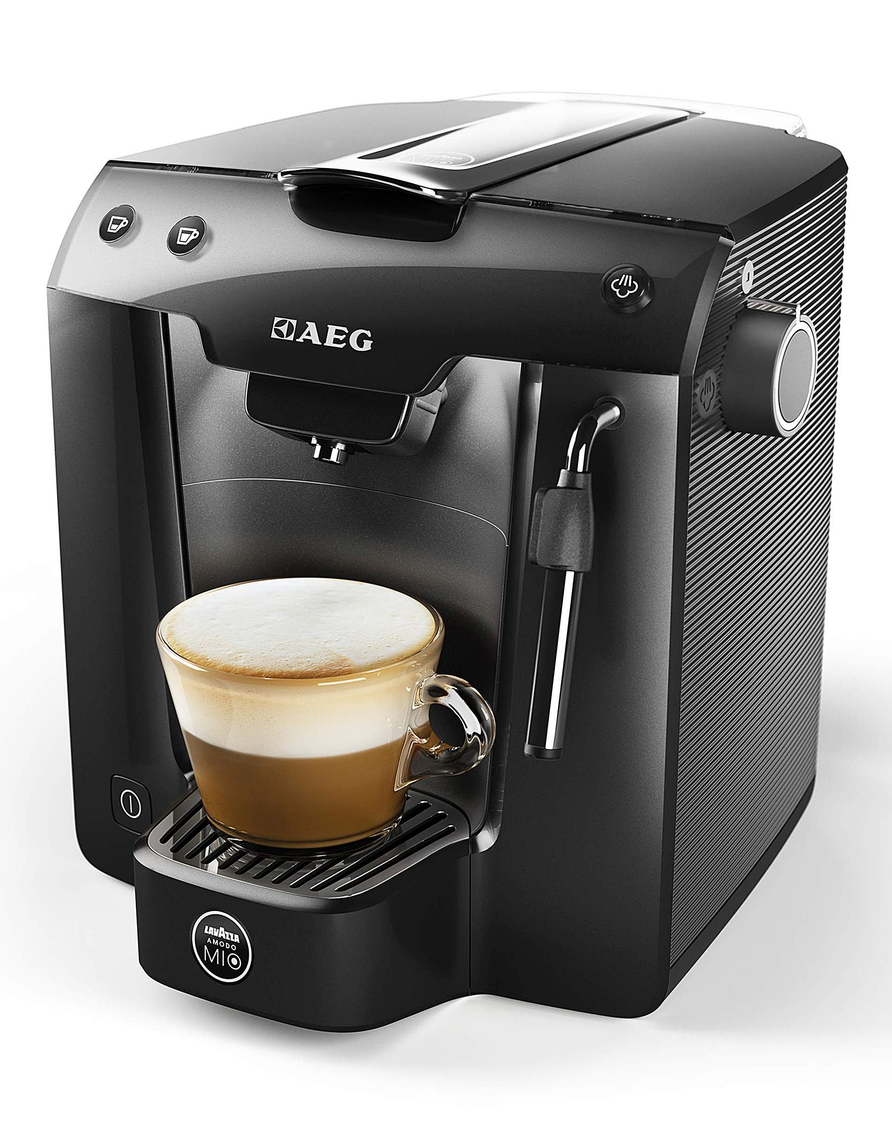 new aeg lm5200bk u lavazza a modo mio favola plus coffee. Black Bedroom Furniture Sets. Home Design Ideas