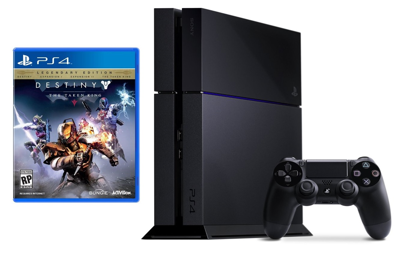 New Sony Playstation 4 Games : New sony ps playstation gb games console destiny