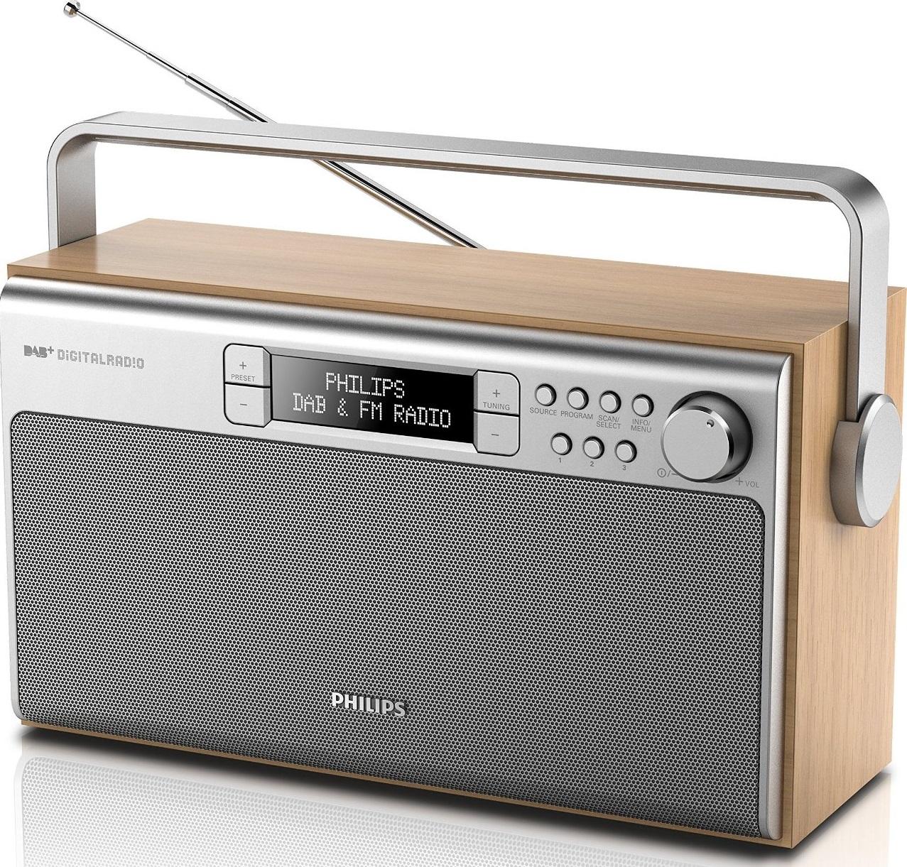 philips ae5220 05 portable radio with dab fm digital. Black Bedroom Furniture Sets. Home Design Ideas