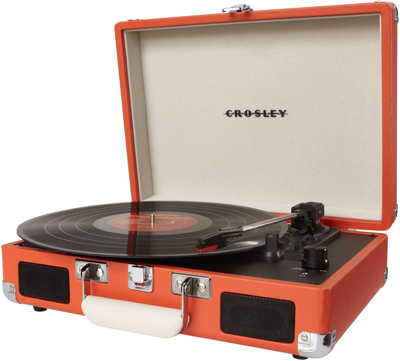 Crosley Cruiser 3 Speed Portable Vinyl Turntable Record