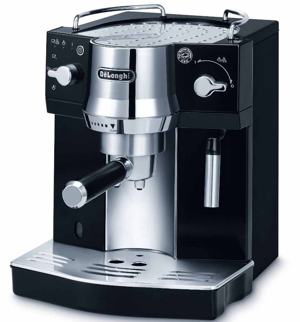 New de 39 longhi ec820 b pump espresso coffee machine black New coffee machine