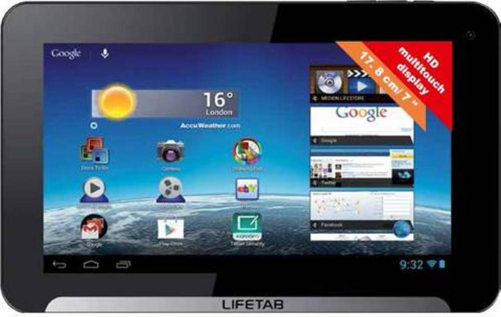 "Medion E7310 Lifetab 7"" Tablet PC 8GB Dual Core 1.4GHz WiFi"