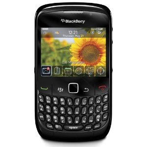 Blackberry Curve 8520 Black Smartphone Mobile Phone Locked To Vodafone