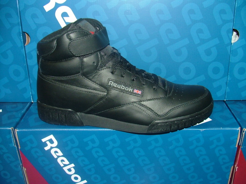 classic reebok high tops black for men