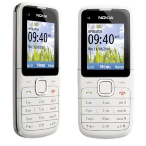 Nokia C1-01 Mobile Phone (Warm Grey) - Sim Free | eBay