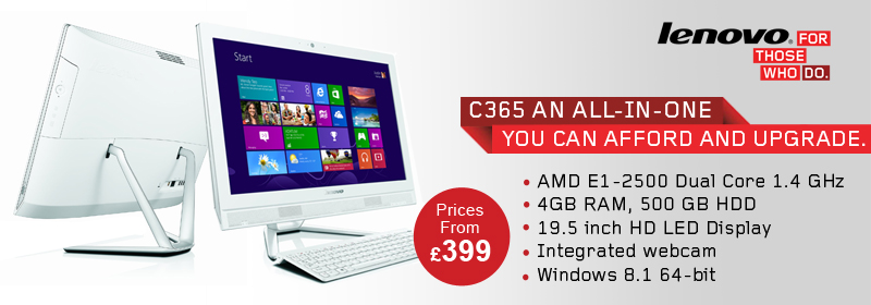 Best Value Lenovo C365 All in One Desktop