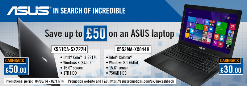 asus cashback offer - Best Core i3 Laptop