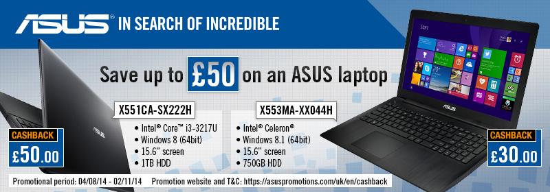 asus cashback offer - Best Core i3 Laptop