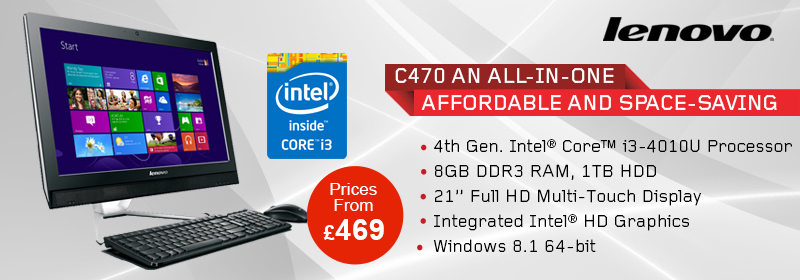 Lenovo c470 all in one pc