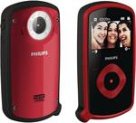 Philips Esee CAM150RD HD 1080p Pocket Camcorder (5x digital zoom) 2.0 inch LCD