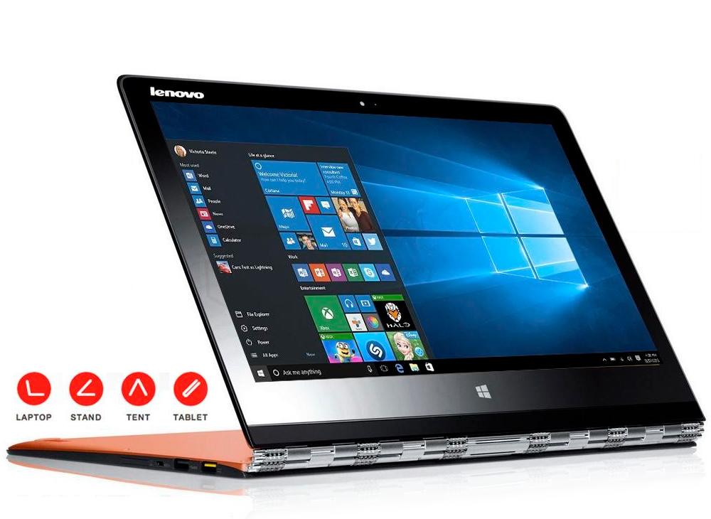 lenovo yoga 3 pro 13 3 qhd multimode laptop intel m 5y71. Black Bedroom Furniture Sets. Home Design Ideas