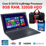 "Acer V5-571 Cheapest Gaming Laptop Core i5- 3317UM 15.6"" 8GB 750GB DVD BT Win 8"