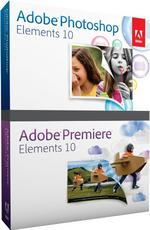 Adobe Photoshop Elements / Premiere Elements 10 Bundle (PC/Mac)  65136344