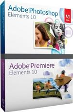 Adobe Photoshop Elements / Premiere Elements 10 Bundle (PC/Mac) 65136386-OEM