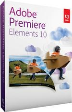 Adobe Adobe Premiere Elements 10  for Mac, PC MiniBox ENG - DVD-ROM  - 65136834