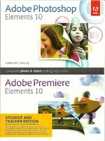 Adobe Photoshop Elements and Premiere Elements 10 Bundle, Student and Teacher Ed
