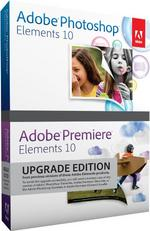 Adobe Photoshop Elements and Premiere Elements 10 Bundle, Upgrade version PC/Mac