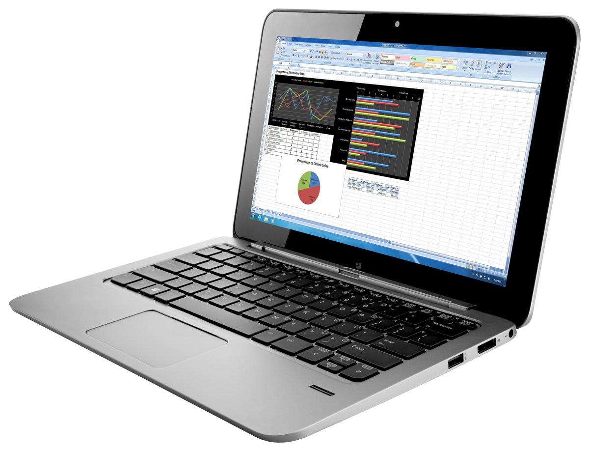 "HP Elite x2 1011 11.6"" Lightweight Laptop Tablet PC Core ..."