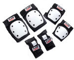 Plain Lazy Pro Pad Safety Set, Pairs of knee pads, elbow pads, Wrist Guards.