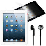 "4th Gen Apple IPAD 9.7"" HD Display Retina Dual Core A6X WiFi 16GB Storage -White"