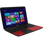 "Toshiba C855D-16U 15.6"" Cheapest Red Laptop AMD Quad Core A8-4500M 6GB RAM 750GB"