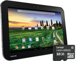 "TOSHIBA AT10-A-104 eXcite 10.1"" Student Tablet  NVIDIA Tegra 3 Quad-Core 16GB"