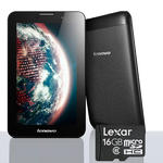 "Lenovo ideatab A3000 59366261 MTK 8125QC 1.2GHz 7"" 1GB 16GB Wifi Bluetooth Black"