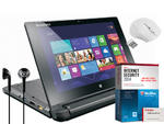 "Lenovo FLEX10 10.1"" TouchScreen netbook intel Pentium N3510 Quad Core 4GB 500GB"