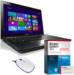 Lenovo G500 15.6 inch Multimedia Laptop intel 3110M IvyBridge 6GB RAM, 1TB HDD